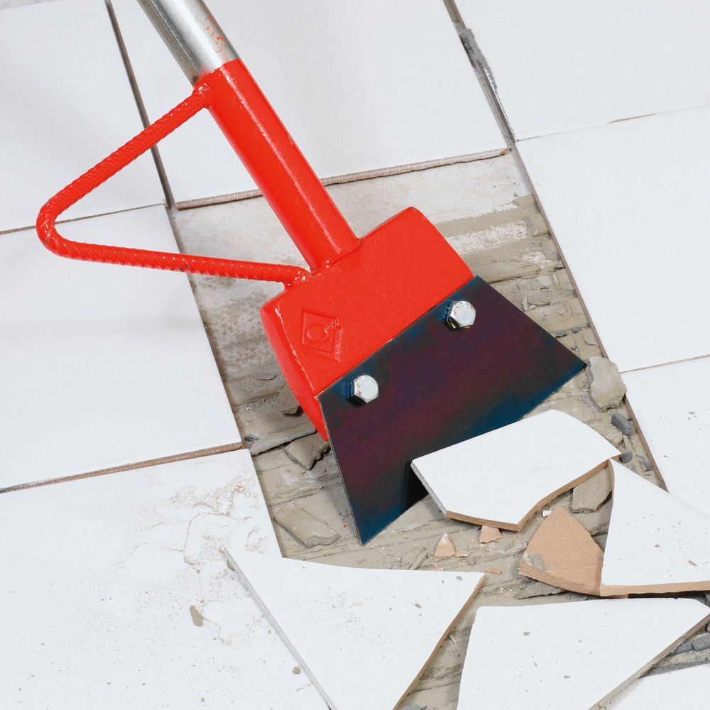 Floor tile scraper