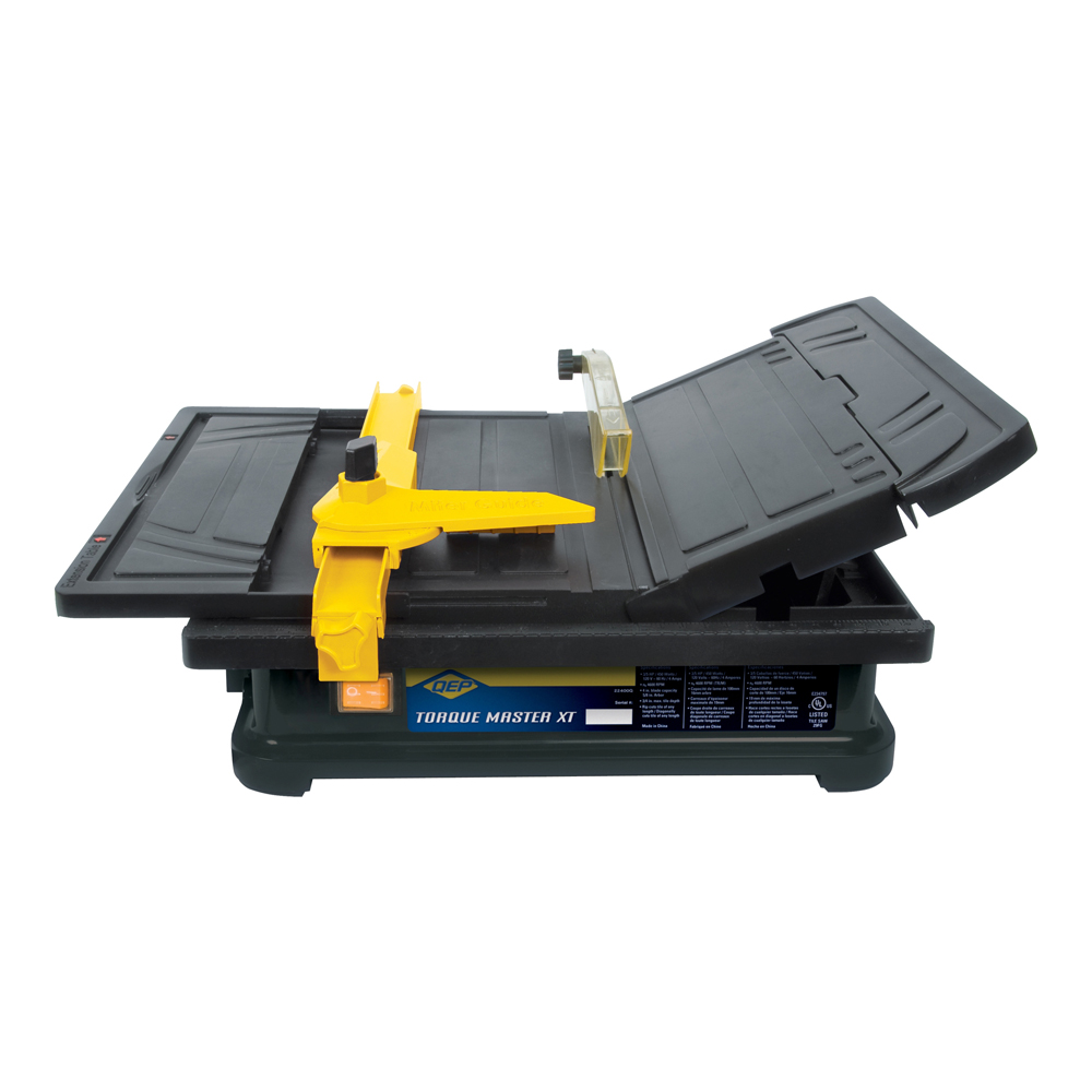 4 Quot 100 Mm Torque Master Xt Portable Tile Saw Qep