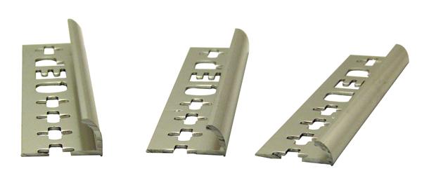 Round Edge Tile Trim Anodized Aluminium