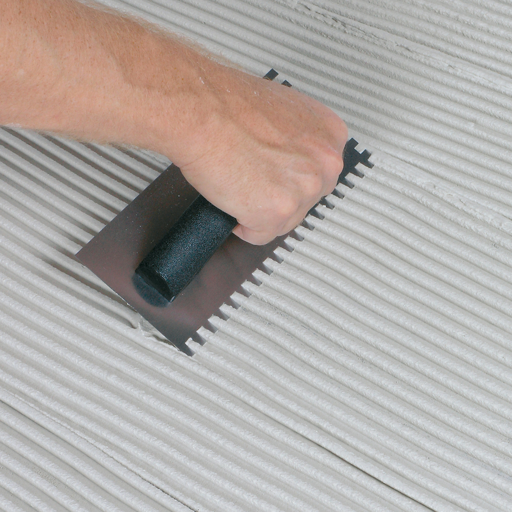 Trowel Notch Size For Large Tiles : Economy notched trowels qep