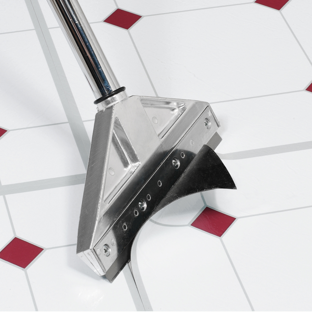 Adjustable Razor Floor Scraper QEP - Stand up floor scraper