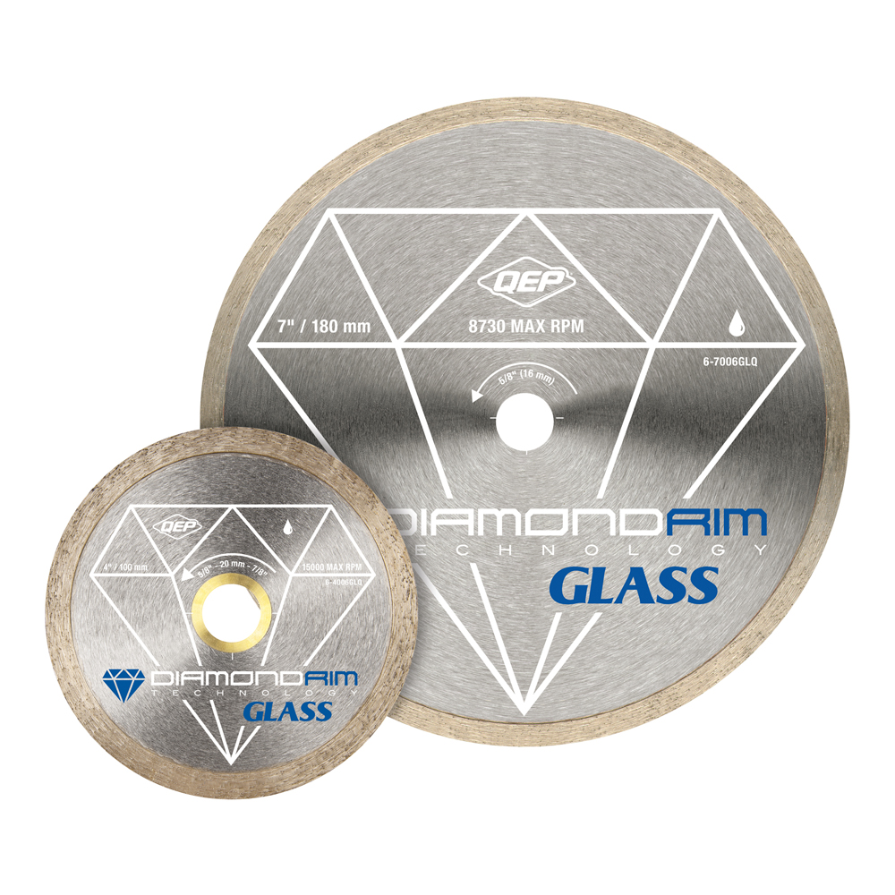 Diamond Blades - Glass Series