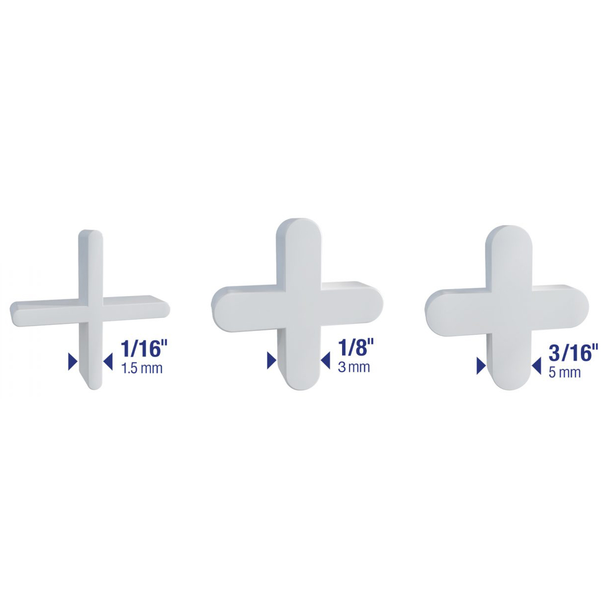 Traditional Flexible Tile Spacers