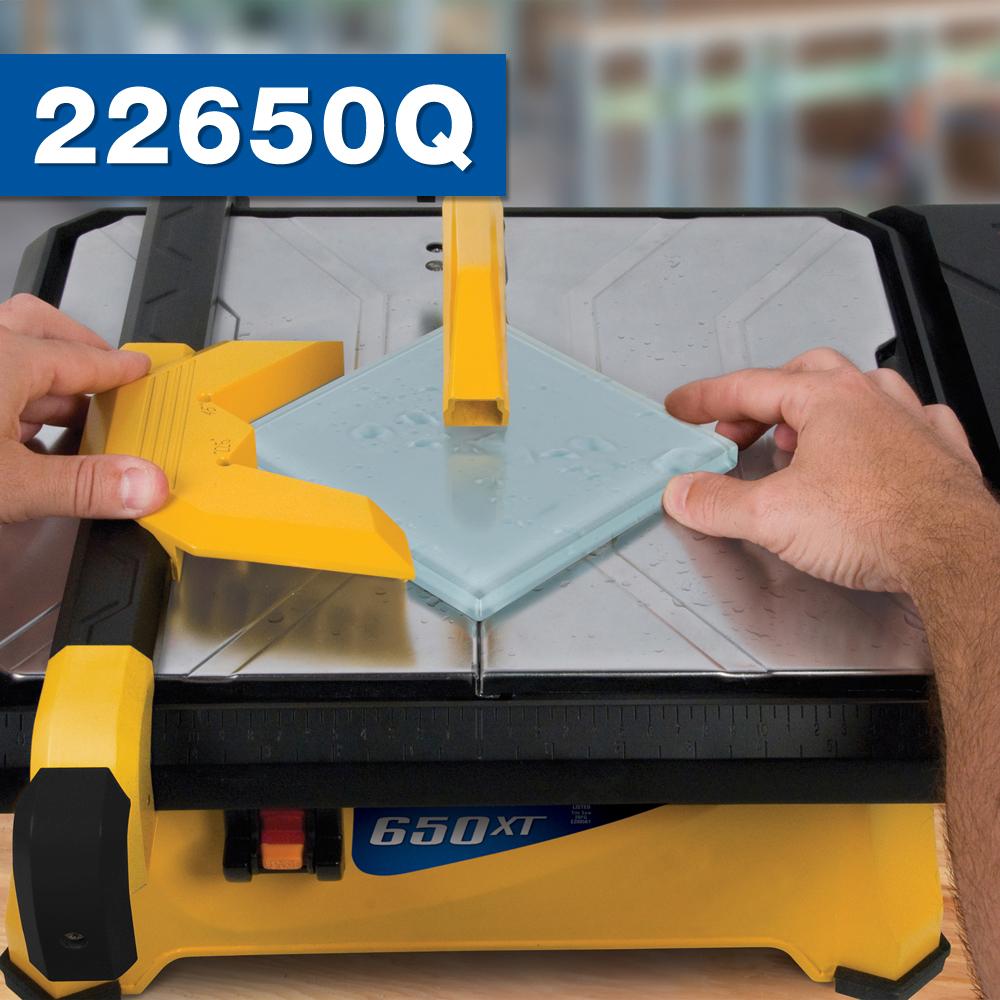 "7"" 650XT Tile Wet Saw"