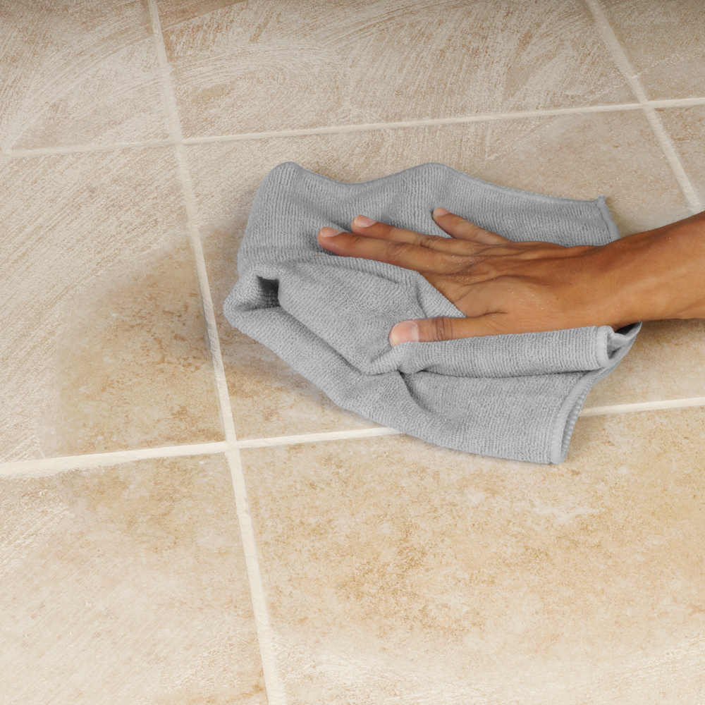Microfiber Grout Cleaning Cloth