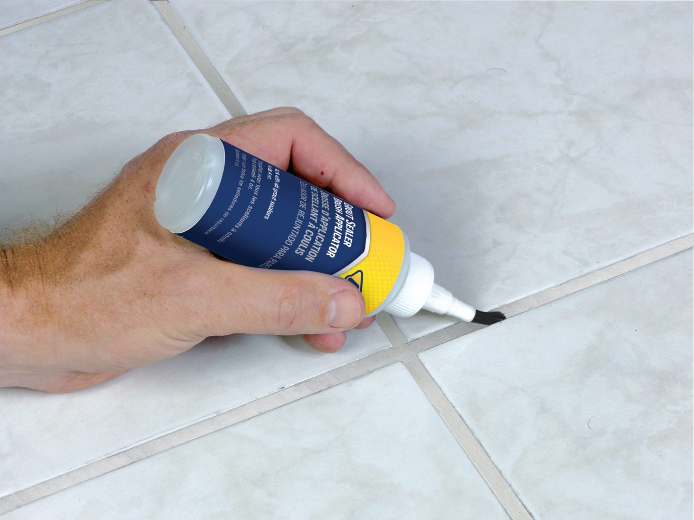 Grout Sealer Brush Applicator