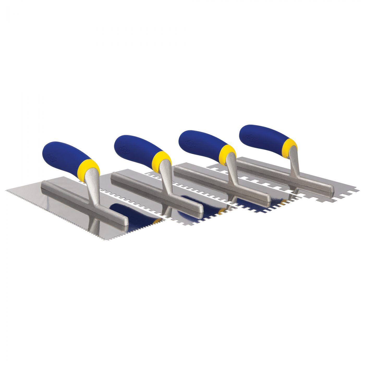 Comfort Grip Stainless Steel Notched Trowels