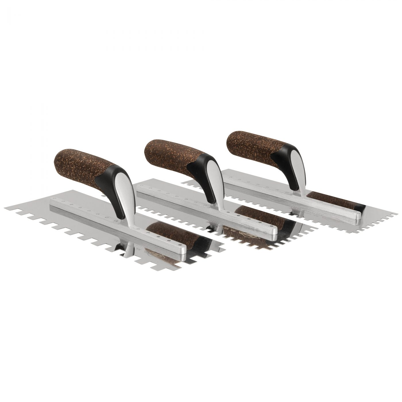 XL Cork Handle Notched Trowels